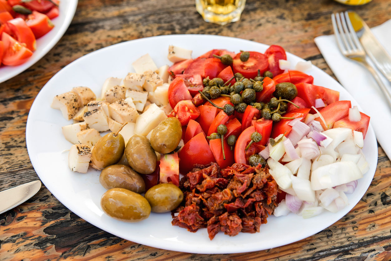 Traditional Maltese platter