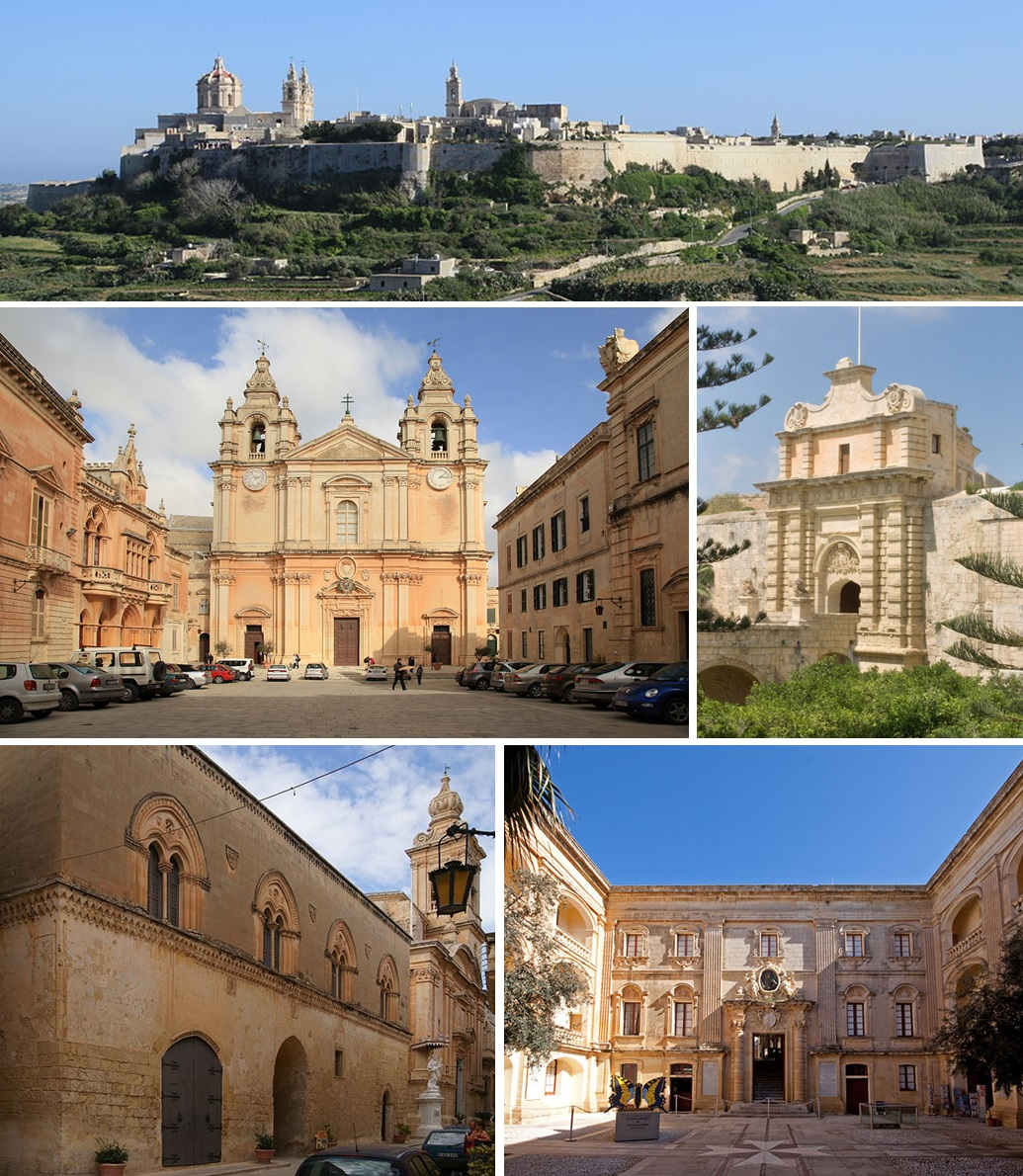 Various parts of Mdina