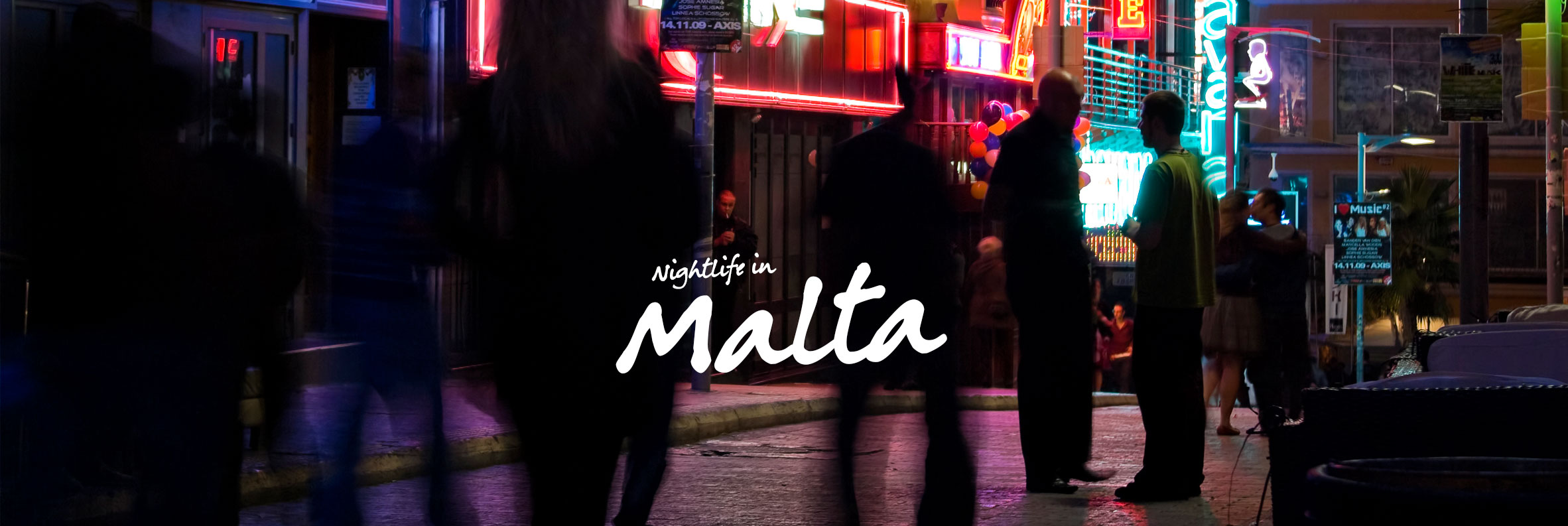 Malta Nightlife Guide - Top 7 clubbing + bar spots for the night-owls